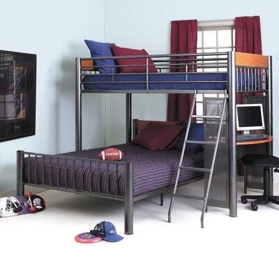 Bunk beds wayfair buy kids loft triple bunk bed for for Low bed frames for lofts