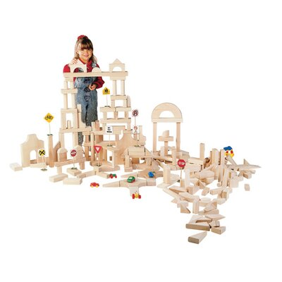 Classroom 86 Piece Unit Block Set