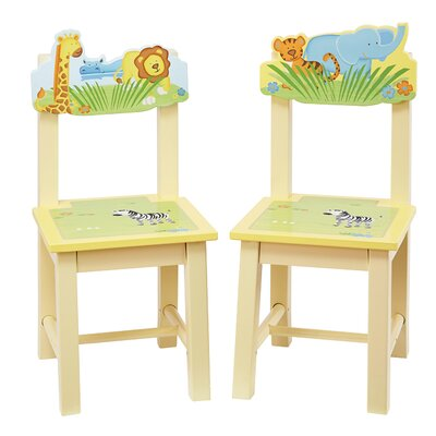 Guidecraft Savanna Smiles Kids Desk Chair