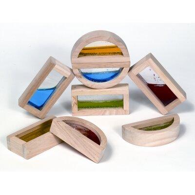 Guidecraft Shimmering Water Rainbow Blocks