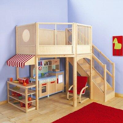 Loft market playhouse wayfair for Raumgestaltung 24