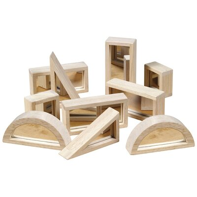 Guidecraft 10 Piece Mirror Block Set