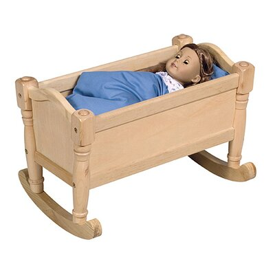 Guidecraft Doll Cradle in Natural