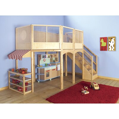 Guidecraft Loft Market Playhouse