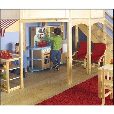 Guidecraft Loft Market Playhouse
