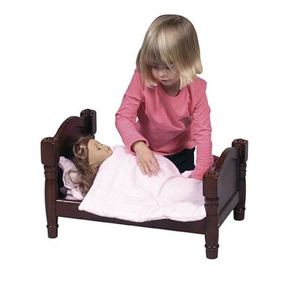 Guidecraft Doll Bed in Espresso