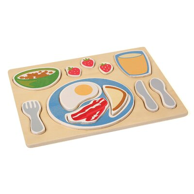 Guidecraft Breakfast Sorting Food Tray