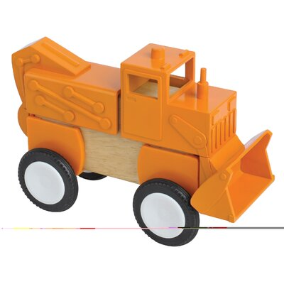 Guidecraft Block Mates Construction Vehicle Set