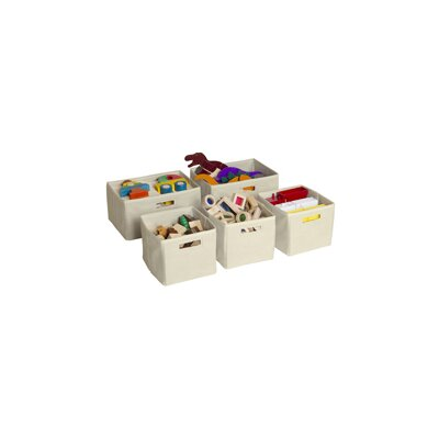 Guidecraft Toy Storage Bin (Set of 5)