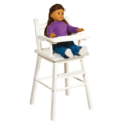 Guidecraft Doll High Chair in White