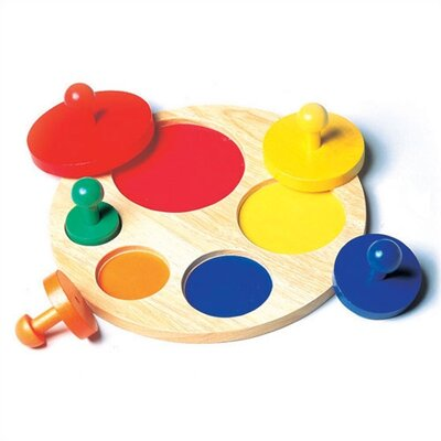 Guidecraft Circle Sorter Shape Puzzle