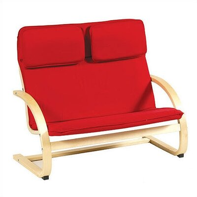 Guidecraft Red Kid's Couch