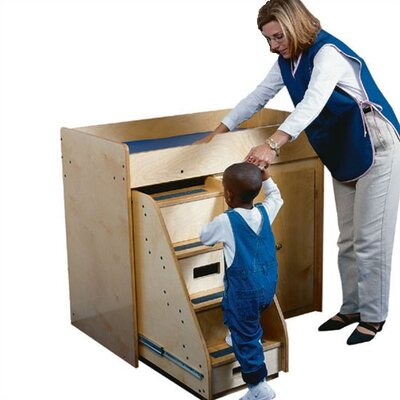 Guidecraft Changing Island Changing Table