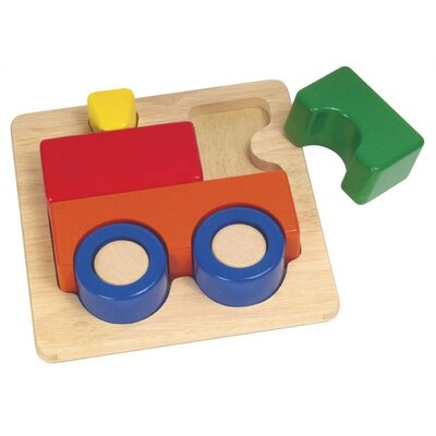 Guidecraft Train Chunky Puzzle