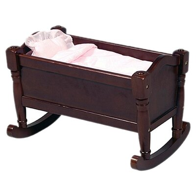 Guidecraft Doll Cradle in Espresso