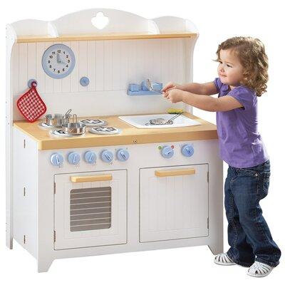Guidecraft 6 Piece Hideaway Country Kitchen Set