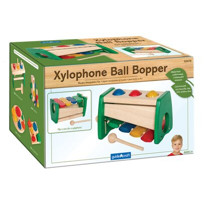 Guidecraft Manipulatives Xylophone Ball Bopper