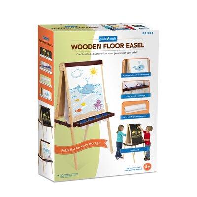 Guidecraft Art Equipment Floor Easel