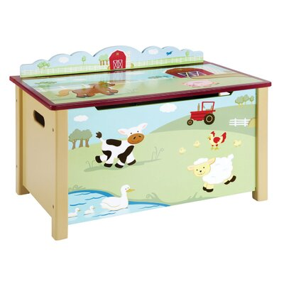 Guidecraft Farm Friends Toy Box