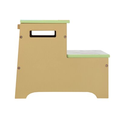 Guidecraft Farm Friends Storage Step Stool