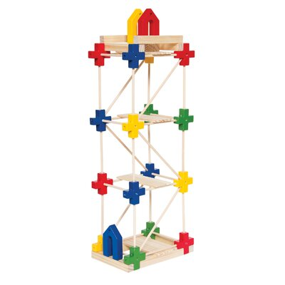 Guidecraft Construction Toys Texo 100 Piece Building Set