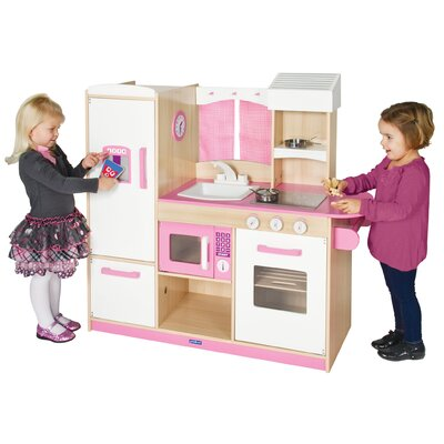 Guidecraft Dramatic Play Along Kitchen