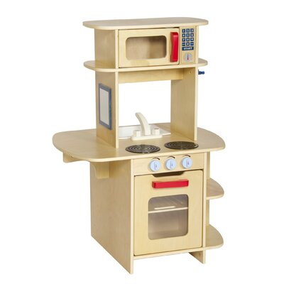 Guidecraft Dramatic Play Café Play Kitchen
