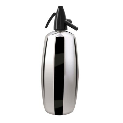Liss Professional 2 Quart Soda Siphon in Polished Stainless Steel