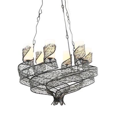 Varaluz Flow 6 Light Chandelier