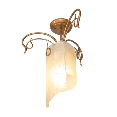 Recycled Soho Semi Flush Mount Ceiling Light