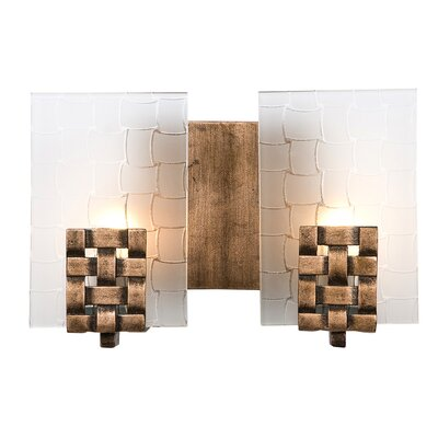 Varaluz Dreamweaver Recycled 2 Light Bath Vanity Light
