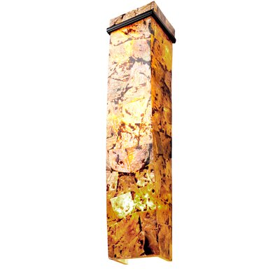 Varaluz Big 3 Light Sustainable Shell Sconce
