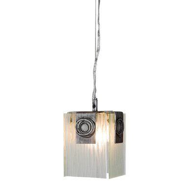 Varaluz Polar 1 Light Mini Pendant