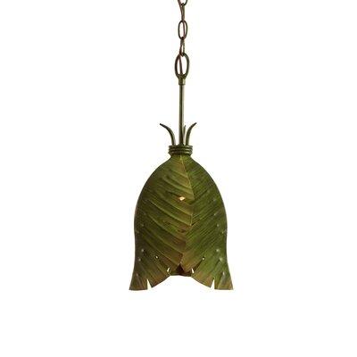 Varaluz Banana Leaf 1 Light Pendant