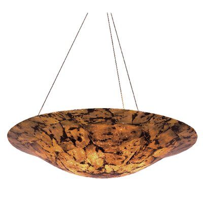 Varaluz Big 5 Light Inverted Pendant