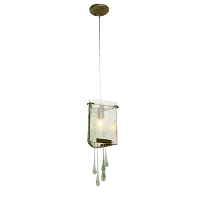 Varaluz Rain Drops 1 Light Mini Pendant