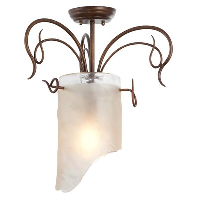 Varaluz Recycled Soho Semi Flush Mount Ceiling Light