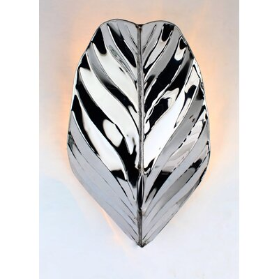 Varaluz Banana Leaf 1 Light Wall Sconce