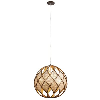 Argyle 4 Light DownLight Drum Foyer Pendant