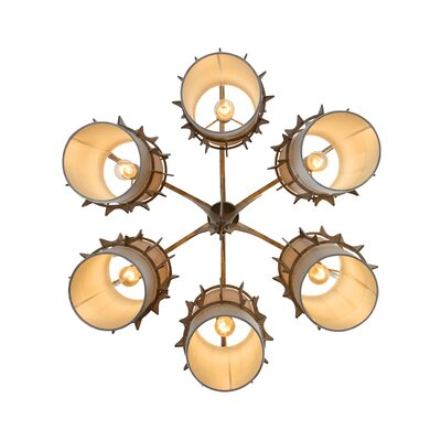 Varaluz Occasion 6 Light Chandelier