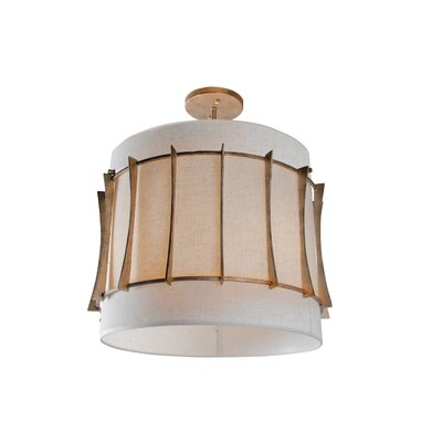 Varaluz Occasion 3 Light Semi-Flush Mount
