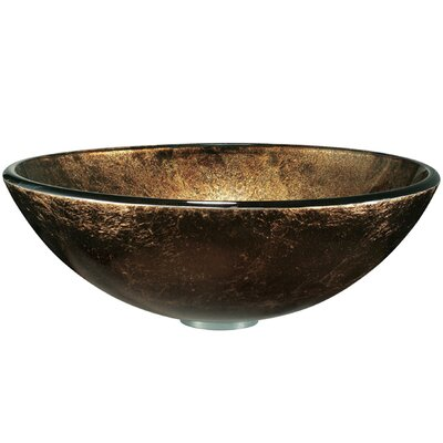 Vigo Dark Bronze Tempered Glass Vessel Sink