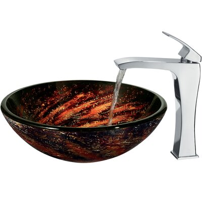 Vigo Northern Lights Vessel with Faucet