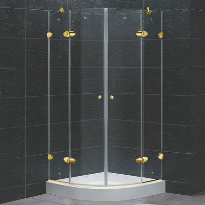 A Amp E Bath And Shower Nevada Neo Round Corner Shower Set Amp Reviews Wayfair