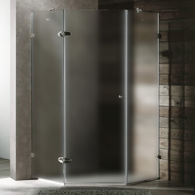 Vigo Neo-Angle Door Frameless Shower Enclosure