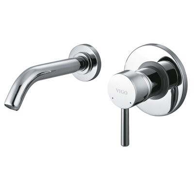 Wall Mounted Bathroom Faucet with Single Lever Handle - VG05001CH