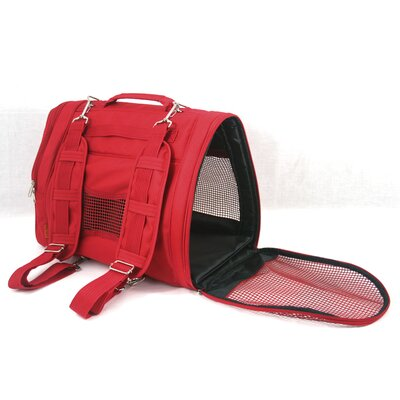 Prefer Pets Backpack Pet Carrier in Red