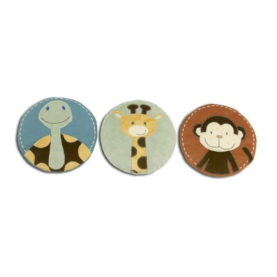 NoJo Jungle Tales Three Piece Wall Hanging