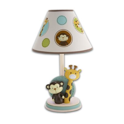 NoJo Jungle Tales Lamp & Shade