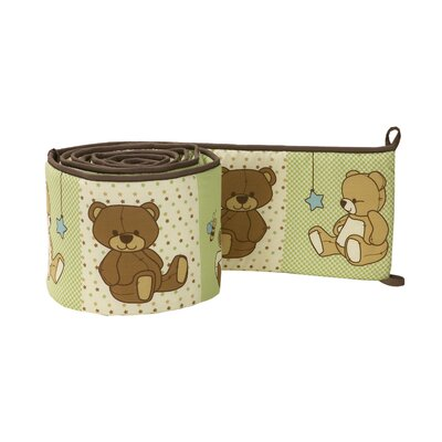 NoJo Dream Land Teddy Crib Bumper